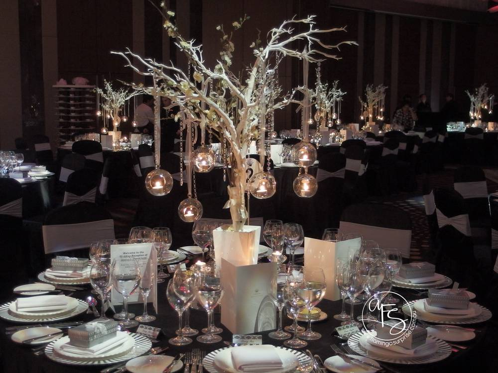 Table Centerpiece Hire Wedding Decorations Event Styling Perth